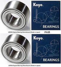 2001-2007 TOYOTA SEQUOIA 2WD 4WD AWD Front Wheel Hub Bearing (OEM) KOYO (PAIR)