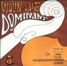 Corde à l'unité Violon DOMINANT VIOLIN SALTE - 130 1/4 - Mi