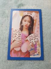 20)TWICE 5th Mini Album What Is Love? Tzuyu Type-6 PhotoCard Official K-POP
