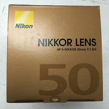 Nikon Nikkor AF-S 50mm f/1.8 G Silent Wave Motor Lens