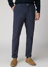 MENS BEN SHERMAN SLIM STRETCH CHINO IN NAVY 36L BNWT