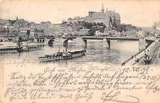 Meisen Germany Gruss aus Harbor View Antique Postcard J39609