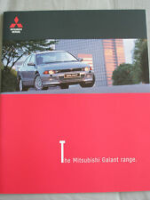Mitsubishi Galant range brochure Jul 1999