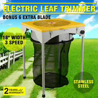 "18""X 18"" Table Leaf Bud Trimmer Three Adjustable Speed For Excess Leaves"