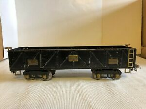 Ives Transition Wide/Standard Gauge 20-194 Gravel (Hopper) Car - 1929 - VG