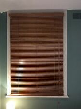 Wooden, Horizontal, Venetian Blind - 144cm Tall X 97cm Wide