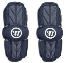 Warrior Bag15-Nvl Adult large navy blue Burn 2 Lacrosse Arm guards