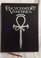 ENCYCLOPEDIA VAMPIRICA - VAMPIRE THE MASQUERADE WHITE WOLF RPG RARE! OOP!