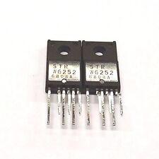 2PCS  STRW6252 STR-W6252 W6252 SANKEN