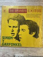 """SIMON AND GARFUNKEL LOS GRANDES EXITOS 12"""" VINYL 33 LP ALBUM VERY RARE CL-S 4165"""