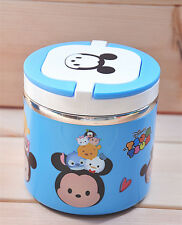 Disney tsum tsum lunch box blue picnic lunch one layer keep warm U150 love box