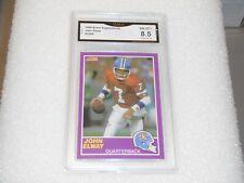 John Elway GRADED CARD! 1989 Score #339S John Elway Denver Broncos HOFer! 8.5%-1