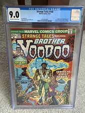 Strange Tales #169 CGC 9.0 OW/WHITE PAGES! 1st appearance BROTHER VOODOO! MCU!