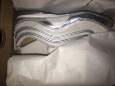 Women NIKE Air Max Plata Neu 1997 97 90 Gr:37,5 Neu Sneaker Special silver white