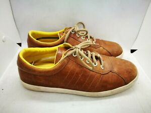 Camper brown leather shoes size 9