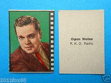 figurines actors figuren akteure figurine nannina 1950 radio orson welles cinema