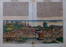 BODENSEE KONSTANZ KONZIL WELTCHRONIK SCHEDEL INKUNABEL PORTRÄTS KOBERGER 1493