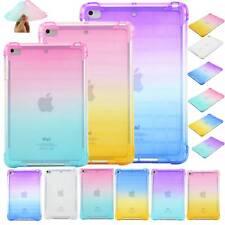 "Ultra-Thin Clear TPU Soft Case Cover For iPad 2 3 4 Mini Air Pro 11""new iPad 9.7"