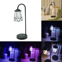 Vintage Wrought Iron LED Table Desk Lamp Home Bedroom Decor Night Light Gifts US