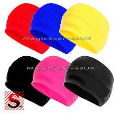 Women Wide Yoga Headband Running Fitness Cycling Hairband Elastic Stretch Turban