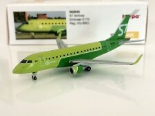 Herpa Wings 1:400 S7 Siberian Airlines Embraer E170 VQ-BBO AVIATIONMODELSHOP
