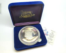 "DISNEY Snow White 50th Anniversary ""DOC"" Collectable .999 Fine 5oz Silver Medal"