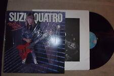 Suzi Quatro - Rock Hard 1980 Hard Rock vinyl record Original inner sleeve shrink