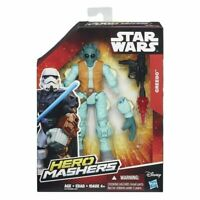 ACTION FIGURE STAR WARS HERO MASHERS GREEDO PERSONAGGIO NUOVO HASBRO 15 CM