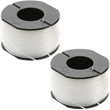 2 x débroussailleuse bobine & ligne pour Black & Decker glc1825l GLC3630L