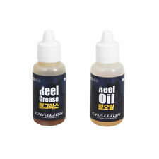 CHALLION Fishing Reel Oil and Grease Set 15ml Reels Oiler Greaser Any Brand OK