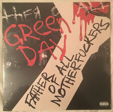 GREEN DAY FATHER OF ALL LP  SOLD OUT LIMITED EXPLICIT COVER RED & BLACK VINYL