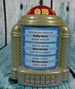 toy 50' s music playing jukebox