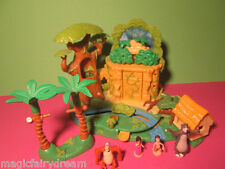 Polly Pocket Mini Disney ♥ Das Dschungelbuch ♥ Jungle Book ♥ 4 Figuren ♥ 99% ♥