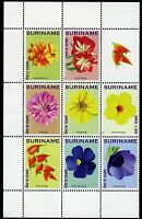 Surinam 2012 Blumen Flowers Blüten Blossoms Bloemen Plants 2559-2566 MNH