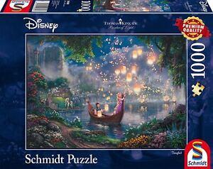 Thomas Kinkade Disney Jigsaw Puzzle 1000 Pieces Tangled Schmidt