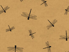 Dragonflies Kraft Tissue Paper 240 Sheets 20x30 Green Way Eco Friendly Holiday