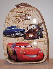 CARS CARRY-ALL TIN BOX School Snack Storage Lightning McQueen Disney Pixar NEW