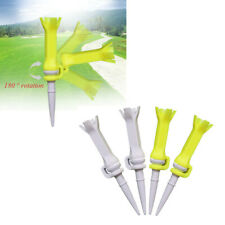 New listing Lot 4 Flexible Golf Tees 76 Mm / 3 Inch Performance Low Resistance Golf Tees
