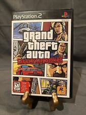 Grand Theft Auto: Liberty City Stories PlayStation 2 Ps2 Complete w/Map 2006