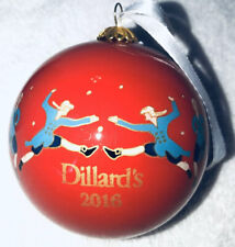 Dillard's Christmas Ornament 2016 From The Twelve Days Of Christmas Collection