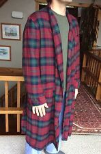 PENDLETON Country Plaid Tartan Robe with Belt Made In USA Men's Size Large
