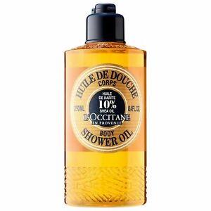 L'Occitane 10% Shea Butter Shower Oil 250ml Moisturising Nourishing *FreePost