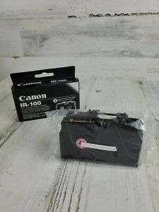 *NEW* CANON IR-100 Non Correctable Ink Ribbon Cassette 2 PK Tapestar Starwriter