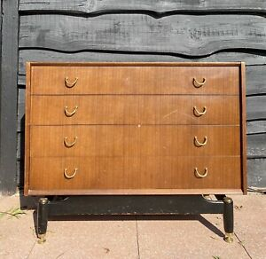 Mid Century G plan E Gomme Librenza Chest Of Drawers