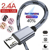 For Xiaomi Redmi 7A 6 Note 6 5 Pro 4X Micro USB Fast Charging Charger Data Cable