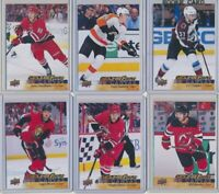 2017-18 Upper Deck Series 1 Series 2 CANVAS Young Guns Rookies YOU CHOOSE