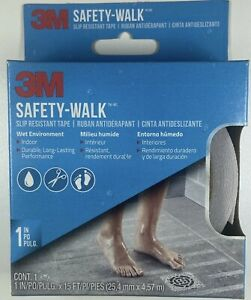 "🔥 BRAND NEW 3M Safety-Walk Tub & Shower Tread Tape 1"" x 180"" 15ft Clear 7640"