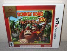 DONKEY KONG COUNTRY RETURNS 3D Sealed New NINTENDO 3DS Platformer Action