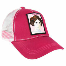 OFFICIAL STAR WARS PRINCESS LEIA PATCH PINK SNAPBACK TRUCKER BASEBALL CAP