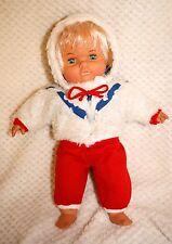 Joli bébé poupée ancienne JESMAR 36 cm vêtements d'origine